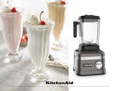 Homemade milkshake made the right way with the Artisan Power Plus Blender. For Everything you Need, choose KitchenAid Homemade Milkshake, Kitchenaid, Artisan, Kitchen Appliances, Diy Kitchen Appliances, Home Appliances, Domestic Appliances, Kitchenaid Artisan, Craftsman