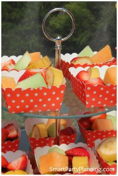 Fruit is a great food to have at kids parties #Kids #Fruit