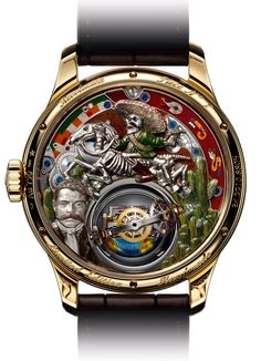 Zenith Academy Christophe Colomb Hurricane Revolución tribute to Emiliano Zapata (case-back)