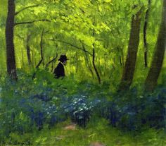 félix vallotton(1865-1925), the satyr in the bois de boulogne, 1904. oil on canvas, 34 x 38 cm. private collection  http://www.the-athenaeum.org/art/detail.php?ID=50872