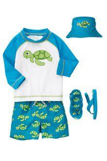 Gymboree swim outfit