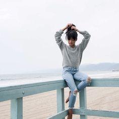 "Olivia Lopez on Instagram: ""Heels up to a long weekend  @paigedenim"""