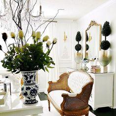 Beaudry Mirror | Ballard Designs | Ballard Designs Centerpieces, Table Decorations, Ballard Designs, Eclectic Style, Old World, Great Rooms, Small Bathroom, Floral Arrangements, Shabby Chic