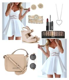 """""""Cute, sexy, summer dress"""" by ariellesmurray ❤ liked on Polyvore"""