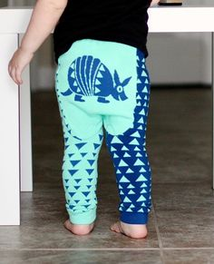 be9cff2384ce49 Armadillo - Southwestern Collection Cotton Leggings, Armadillo, Cloth  Diapers, Pajama Pants, Sweatpants