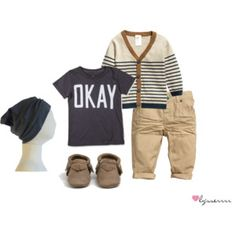 """""""Little Boy's Outfit"""" by lysserrrr Baby Outfits, Outfits Niños, Little Boy Outfits, Kids Outfits, Toddler Boy Fashion, Little Boy Fashion, Toddler Boys, Kids Fashion, Baby Boys"""