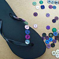 button flip-flops