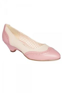 Ida Low Pump in Baby Pink