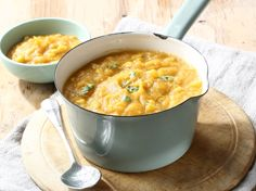 From the YOU test kitchen: Thick butternut corn soup Soup Recipes, Dessert Recipes, Cooking Recipes, Desserts, Cooking Classes, Cooking Time, South African Recipes, Ethnic Recipes, Butternut Soup