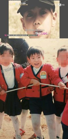 Childhood photos of SHINee's Taemin and Jonghyun gain interest