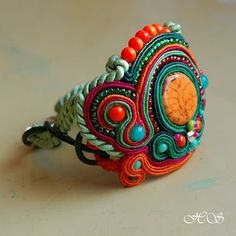 Brighten up with a bracelet by Anna Jaroszewicz.