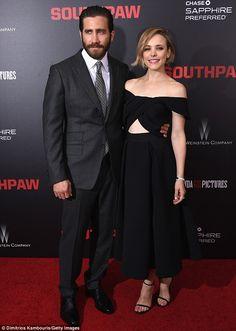 Nice arm candy! Rachel was joined on the red carpet of AMC Loews Lincoln Square 13 by her ...