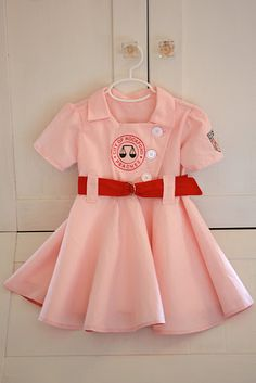 Rockford Peaches Costume. Oh yeah!  Somebody who has kids should do this.  :D