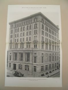 Hall of Board of Education, Fifty-Ninth St., and Park Avenue, New York, NY, 1900
