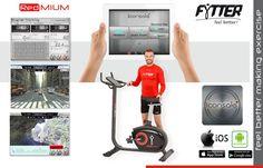 Análisis Review de la bicicleta estática Fytter Racer RA-09R Feel Better, Home Appliances, Train, Bicycles, House Appliances, Appliances, Strollers
