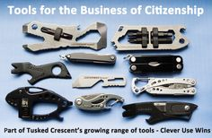 Tools for Citizenship  The selection of quality tools continues to grow  www.tuskedcrescent.com