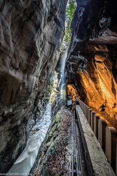 Bad Ragaz, Railroad Tracks, Waterfall, Outdoor, Trench, Rocks, Road Trip Destinations, Outdoors, Rain
