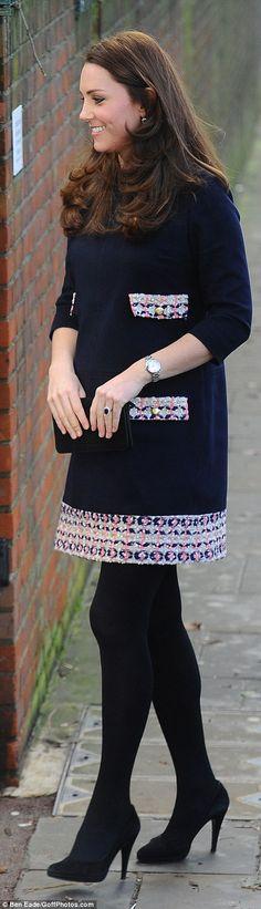 HRH Duchess Catherine of Cambridge visit the Clore Art Room at Barlby Primary School, London, January 15, 2015