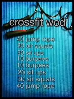 #crossfit- another travel/home WOD.