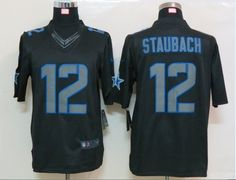 Dallas Cowboys #12 Staubach Limited Jersey
