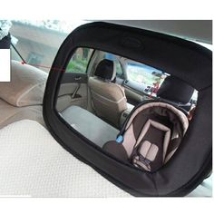 Giggling Monkey Baby Car Mirror ANNOUNCES MASSIVE SALE FOR A LIMITED TIME  ONLY $15.99  Almost Less than half price... Biggest, Highest Quality Mirror with Many Safety Features. www.amazon.com/Baby-Car-Mirror/dp/B00ZWBHL1S