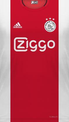 Soccer Kits, Football Kits, Football Jerseys, Afc Ajax, Classic Football Shirts, Football Wallpaper, Fifa, Adidas, Sports