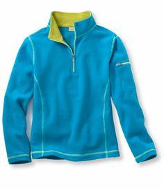 Girls' Fitness Fleece, Pullover: Sweatshirts and Fleece: Fitness Find