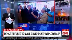 "The CNN screen graphic at 6 pm on September 12 was blunt: ""PENCE REFUSES TO CALL…"