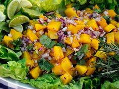 Rocco DiSpirito's Mango Summer Salad http://abcn.ws/MkR1Um