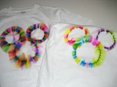 Yet another Sharpie + isopropyl tie dyed tee tutorial...this one is for Mickey M..