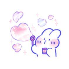 Phone Themes, Cute Kawaii Drawings, Bunnies, Avatar, Animation, Illustrations, Cartoon, Stickers, Memes
