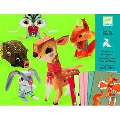 Волшебная бумага «Животные», DJECO