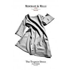 Merchant & Mills Patterns - The Trapeze Dress