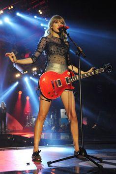 Taylor Swift at BBC Radio 1's Teen Awards in London, England (October 7).