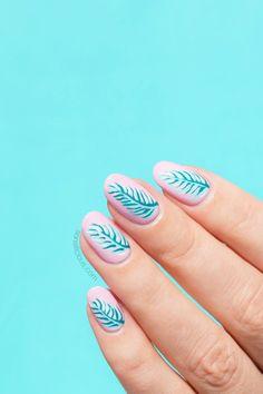 Beach nail art feat. OPI fiji nail polish collection