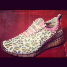 Cheetah Nike runners ummmm yea