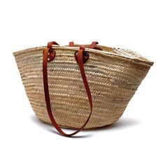 French Market Tote - (long + short) FEATURED IN Bon Appetit! Ship Date May 16th
