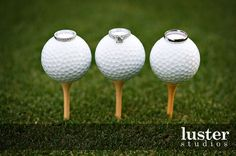 Creative way to show off your wedding rings [Dominion Valley Country Club] www.dominionvalleycountryclub.com