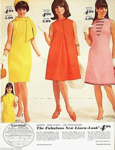 Old Fashion hideelee: Skylark 1967 1969 Fashion, 60s And 70s Fashion, Mod Fashion, Vintage Fashion, 1960s Fashion Women, Club Fashion, Vintage Outfits, Robes Vintage, Vintage Dresses