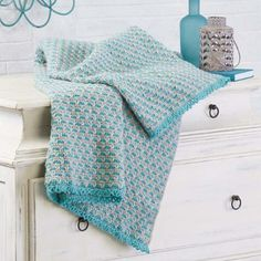 Herrschners® Quietude Crochet Afghan Kit $34.99