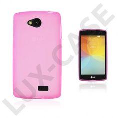 Sund LG F60 Deksel - Varm Rosa Purple, Blue, Hot Pink, Smartphone, Iphone, Cover, Lilac, Blankets, Viola