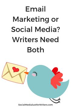 Should Indie authors focus on email marketing or social media? Pew Research study results show that Indie Authors need to use both in their marketing strategy. Email Marketing, Marketing Books, Research Studies, Authors, Writers, Social Media, Indie, Study, Blog