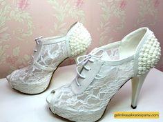 ısmarlama gelin ayakkabısı