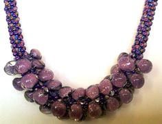 kumihimo patterns | Kumihimo Bubble Necklace PATTERN ONLY PDF by sparkleezcrystals