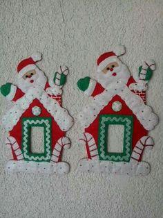 ffbf3d8ddd6 Santa feliz Tarjetas De Navidad Hechas A Mano