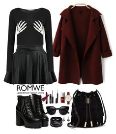 Romwe 3 by amra-f on Polyvore featuring polyvore, fashion, style, Boohoo, Vince Camuto, Replay, FOSSIL and MAC Cosmetics