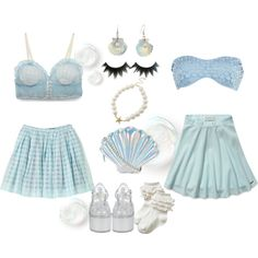 """""""Under the Sea"""" by ricehime on Polyvore"""