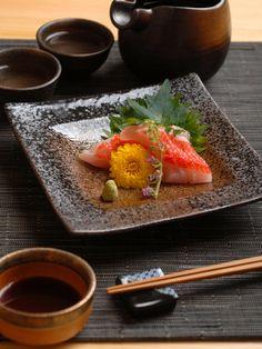 Japanese sashimi dish.