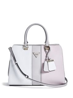 6ce769450a Cooper Color-Blocked Carryall at Guess