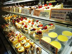 Japanese people love their sweets!